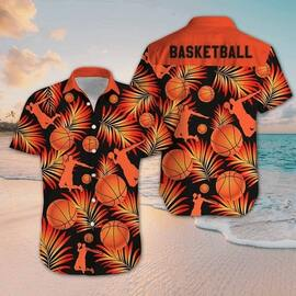 for basketball fan all over printed hawaiian shirt