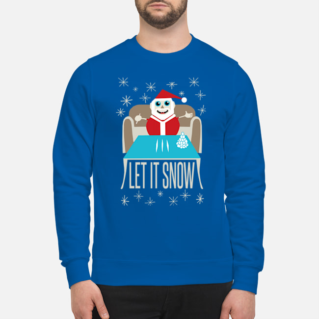 Let It Snow Sweater and T-shirt