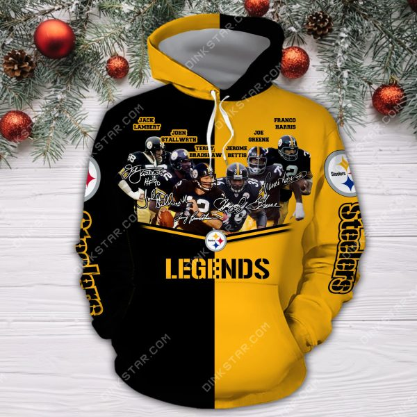 Pittsburgh Steelers Legend 3D Hoodie and Sweater