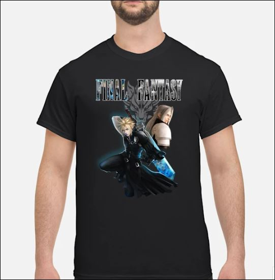Niceseller Final Fantasy Cloud Strife and Sephiroth shirt