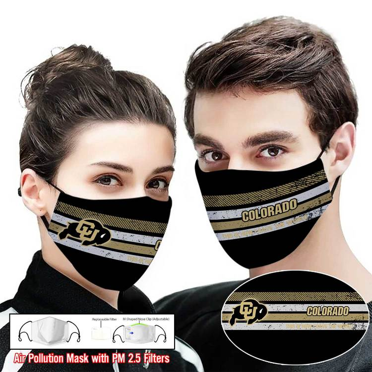 Hot trend Colorado buffaloes this is how i save the world face mask