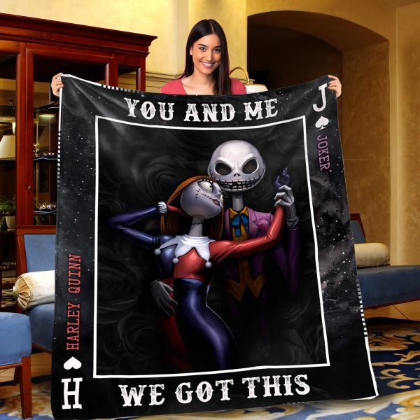 Personalized-Jack-Skellington-and-Sally-you-and-me-we-got-this-fleece-blanket