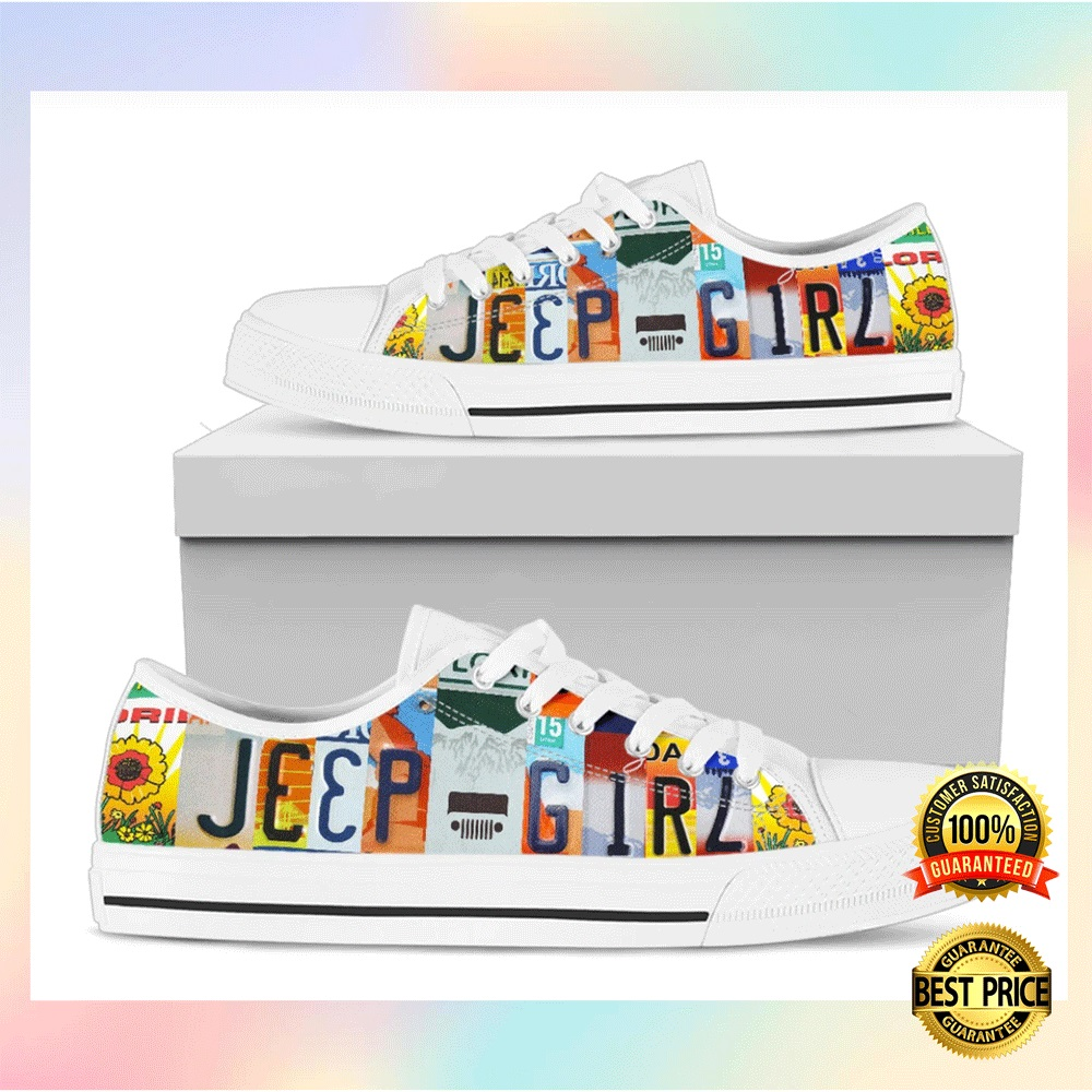 [NICE] JEEP GIRL LOW TOP SHOES