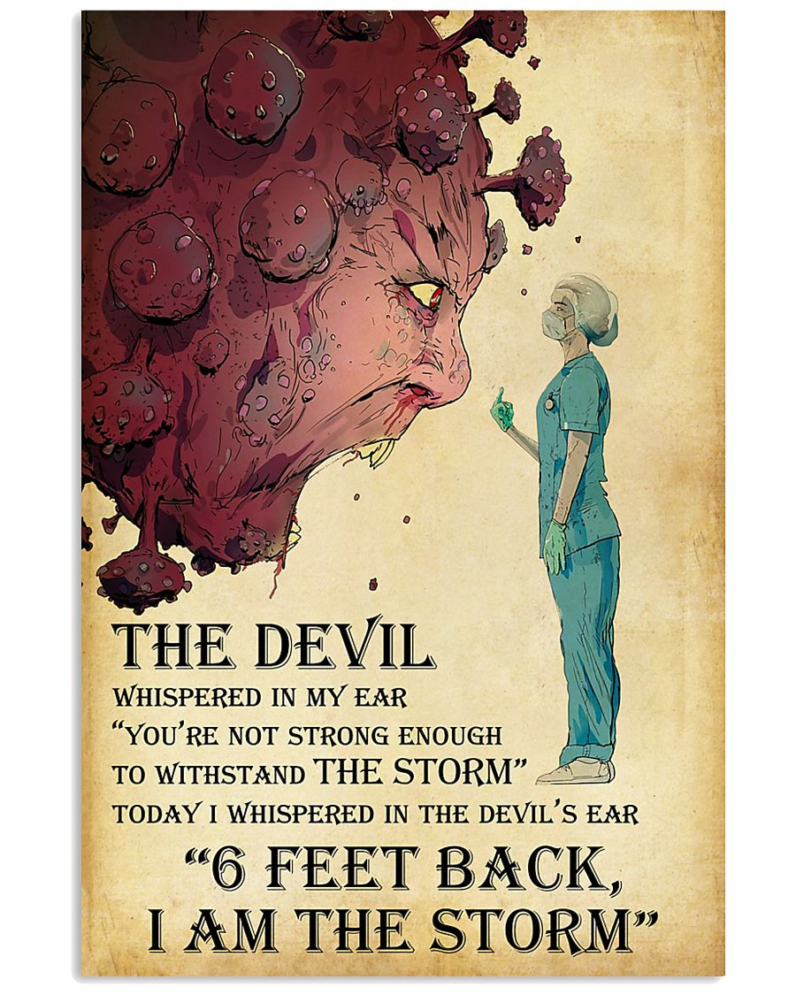 Nurse-The-Devil-Whispered-In-My-Ear-I-Am-The-Storm-Poster