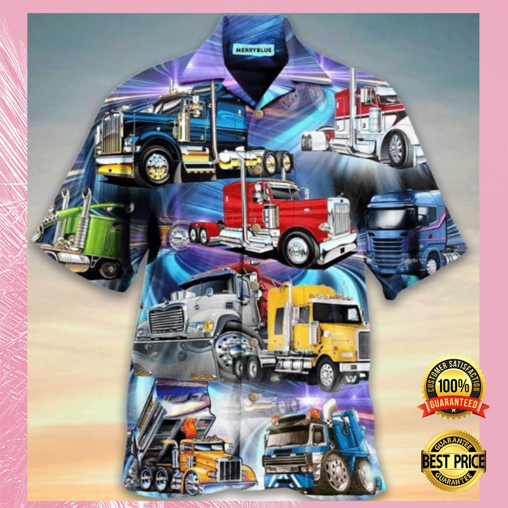 [WOW] TRUCKS HAWAIIAN SHIRT