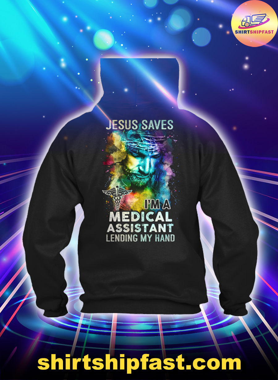 Jesus saves I'm a medical assistant lending my hand