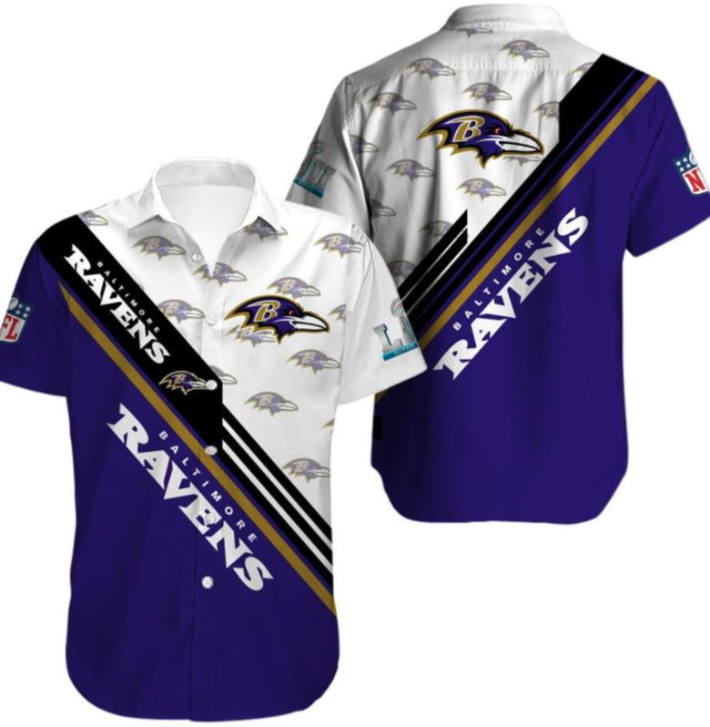 Limited Edition Baltimore Ravens Hawaiian Shirt For Fans