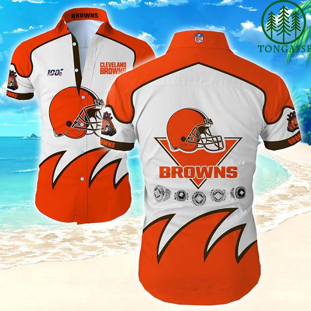 Hawaiian Shirt Nfl Cleveland Browns Special Edition For Fan