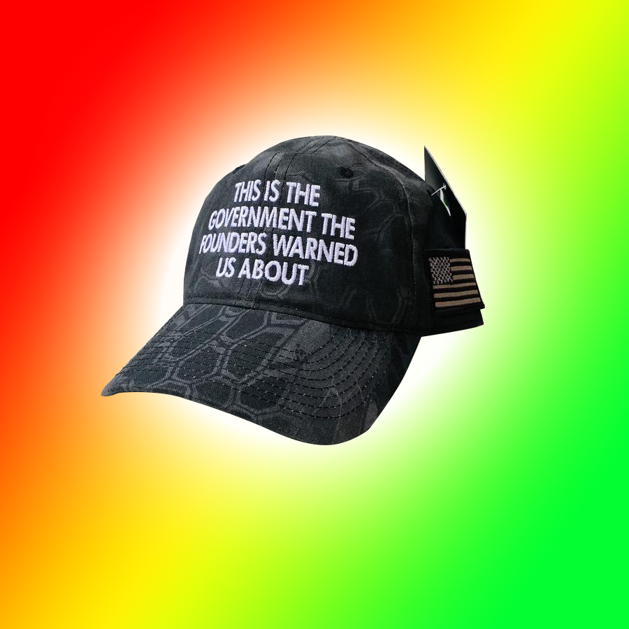This Is The Government The Founders Warned Us About Cap Hat